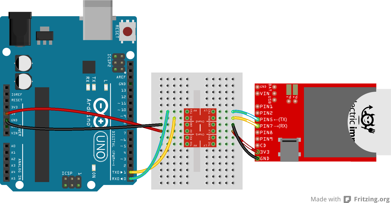 Connecting an Arduino and Raspberry Pi - Fritz Hut