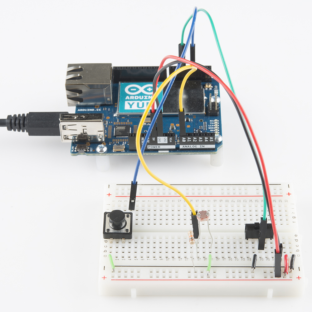 Arduino Yun and OSC commands