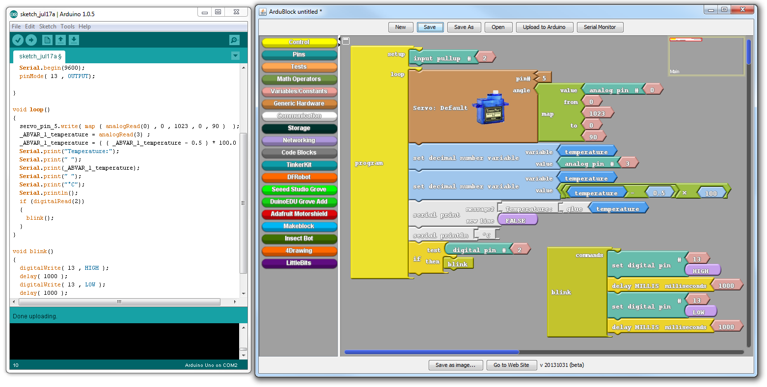 Visuino - Visual Development for Arduino by Mitov Software