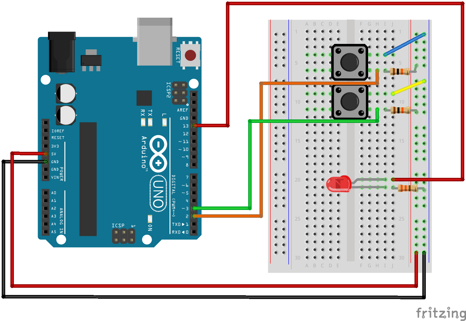 Control LEDs ON/OFF with IR Remote and Arduino