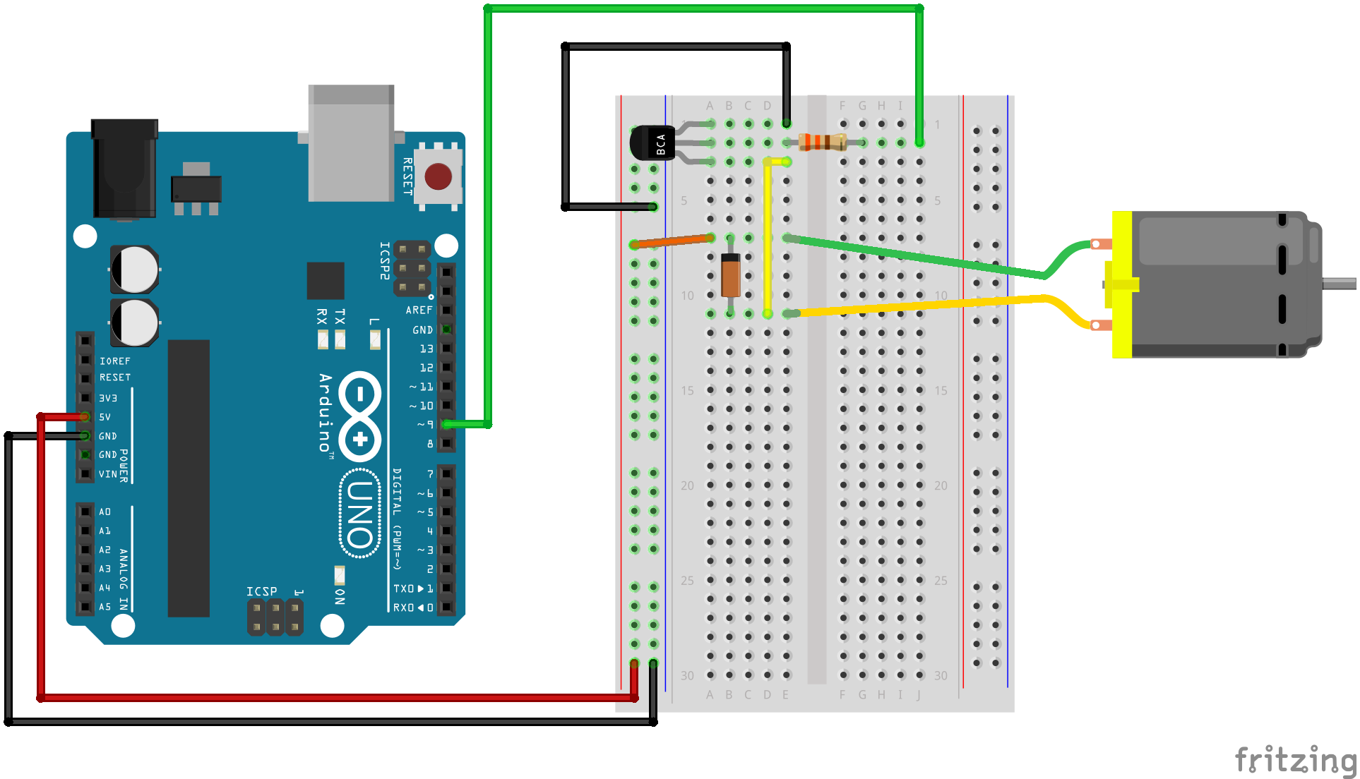 Arduino Nano: all-in-one design for breadboard use