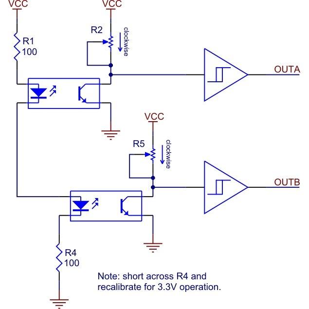 Quadrature wheel encoder with arduino : arduino - reddit