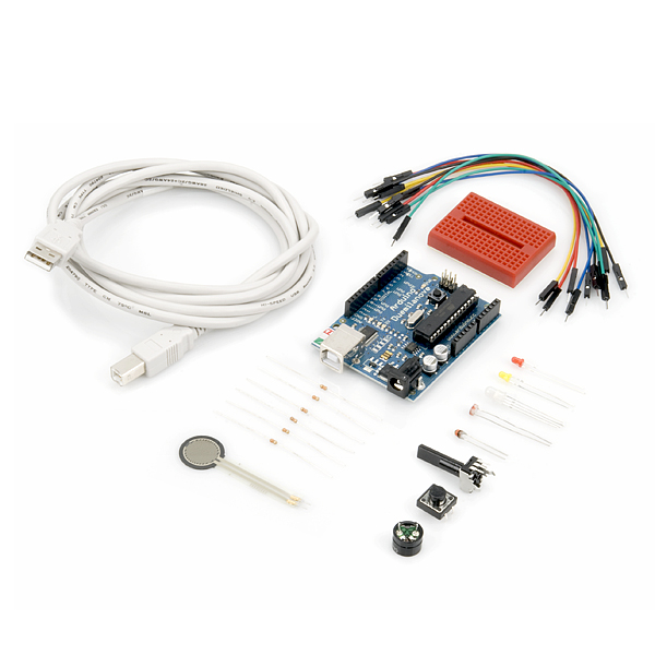 SparkFun Inventors Kit for Arduino w/ carrying case