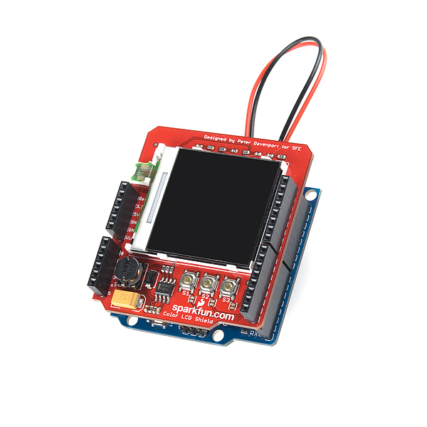 28 TFT Touch Shield for Arduino with Resistive Touch