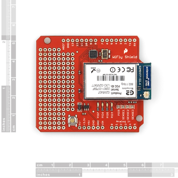 Arduino with RN-XV WiFly Module - Department of
