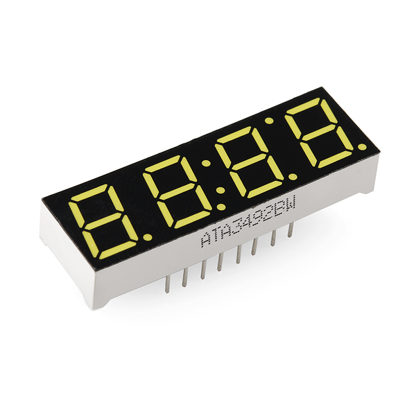 Arduino 4 digits 7 segments LED countdown timer with