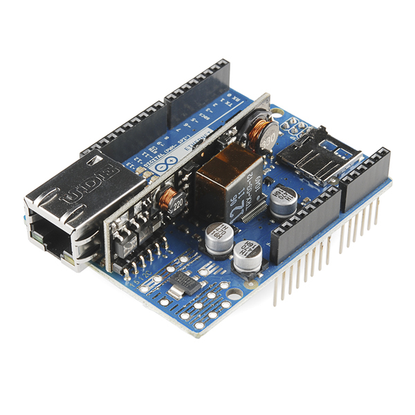 W5500 Ethernet with POE Mainboard SKU: DFR0342