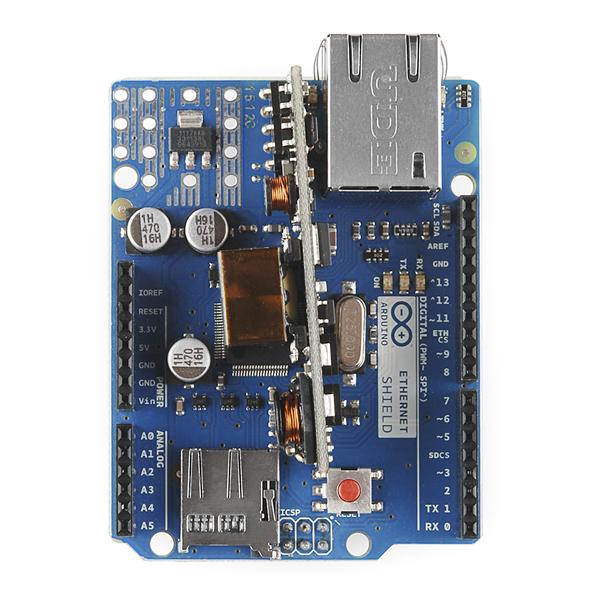 Ethernet Shield W5100 для Arduino від інтернет
