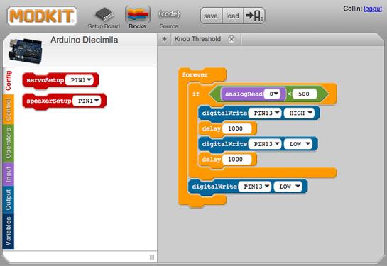 Scratch for Arduino Makes Programing the Arduino