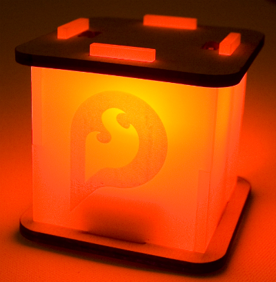 Ponoko Nightlight