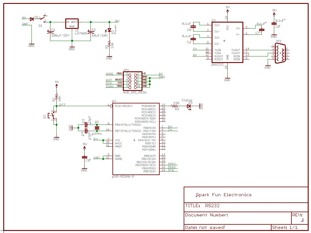 How to make a working RS232 - TTL level converter